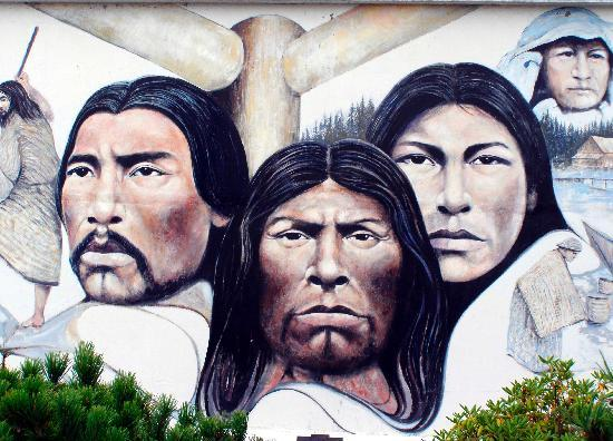 Native Heritage - Painted in 1983 by Paul Ygartua